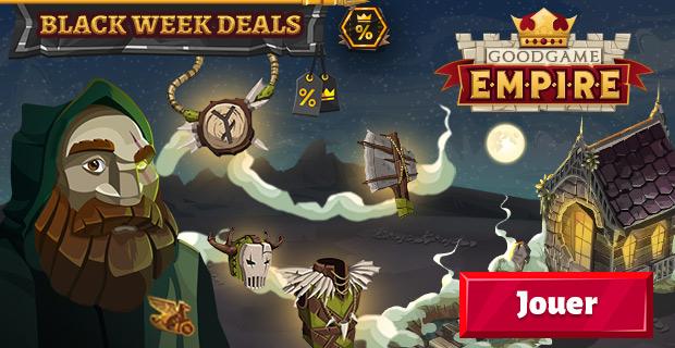 Goodgame Empire Black Week Deals