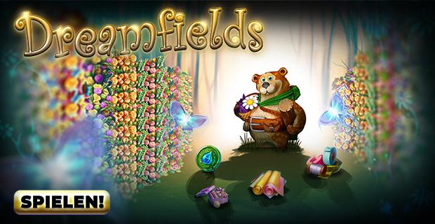 Bereite dich diese Woche in Dreamfields auf einen Orangentraum vor!